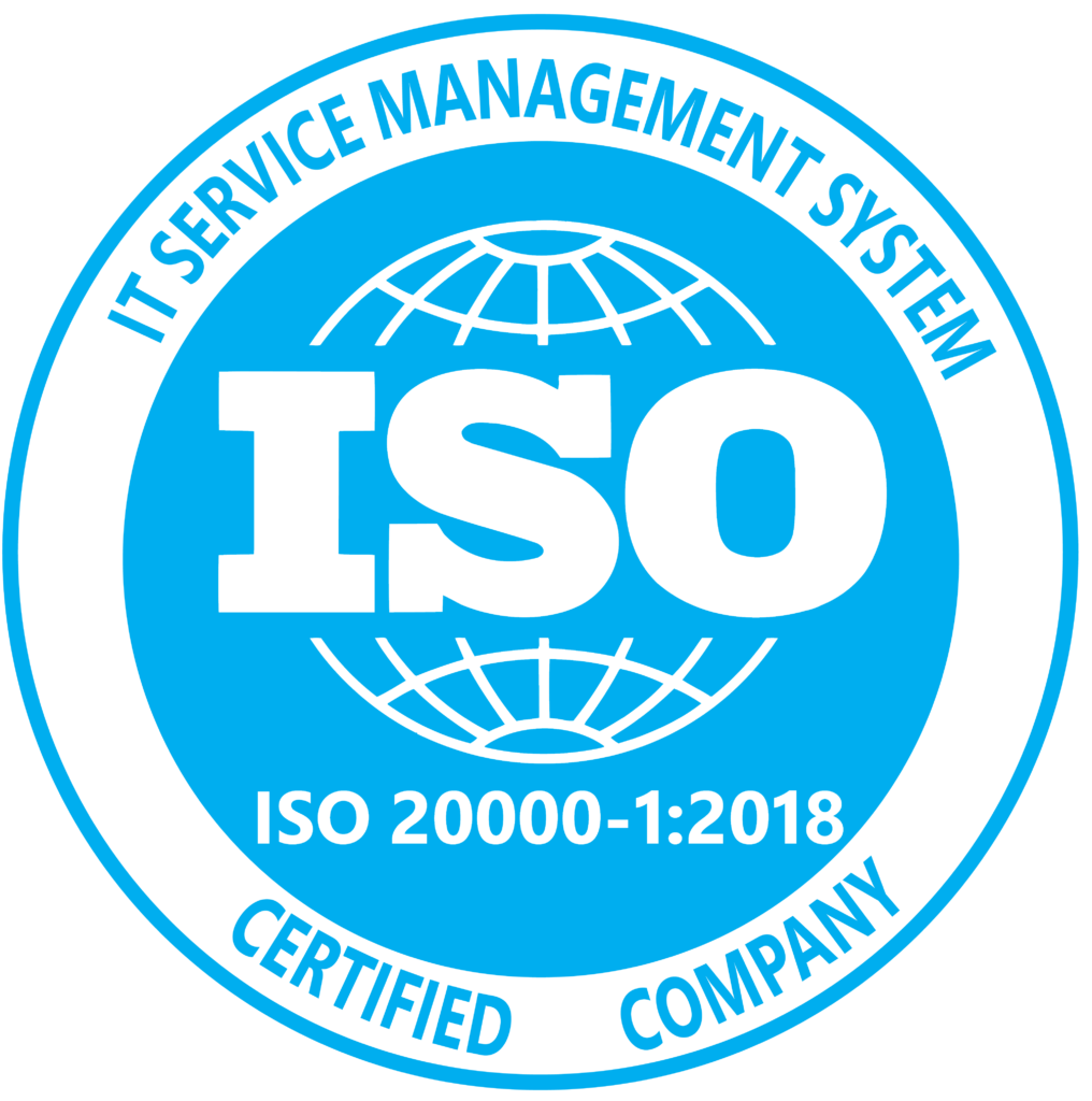 ISO 20000-1 Certified Company