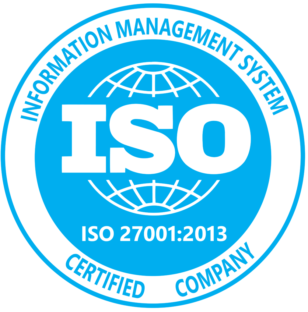 ISO 27001 Certified Company